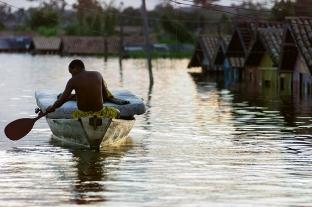 Enchente em Marabá. Foto Paulo Santos