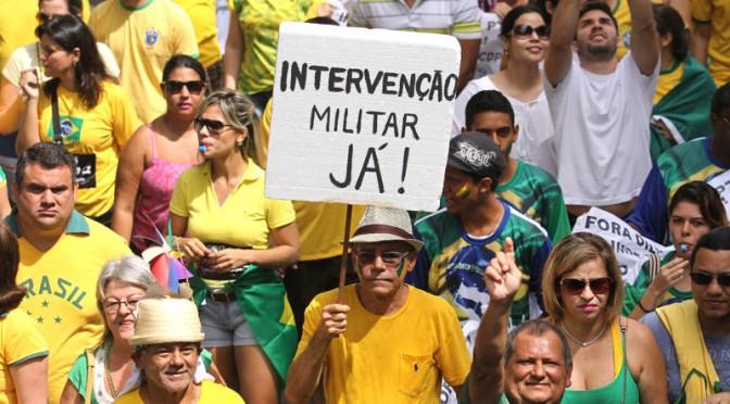 Protesto Contra Dilma em Belém