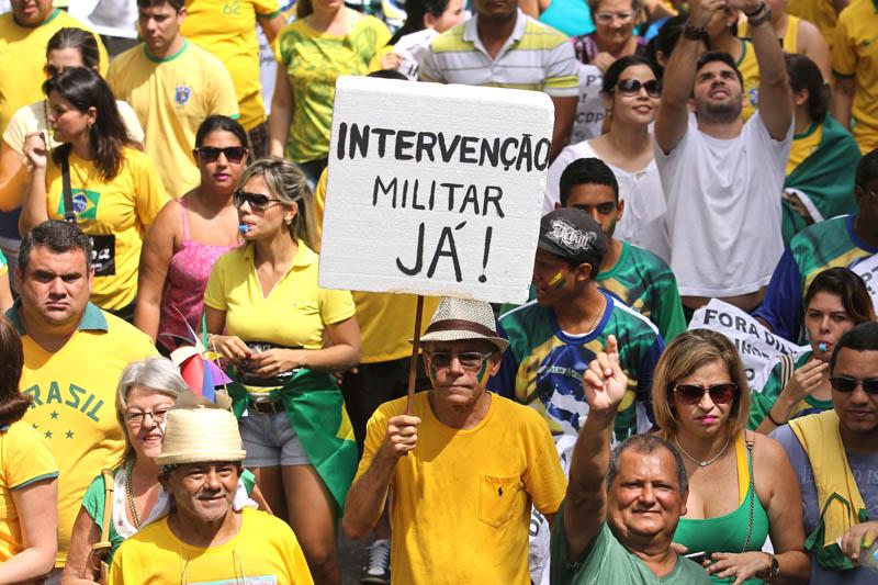Protesto Contra Dilma emBelém