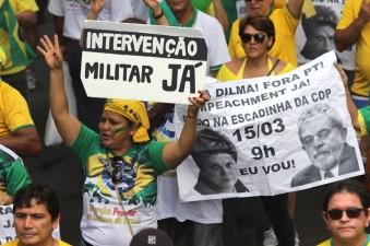Protesto contra Governo Dilma