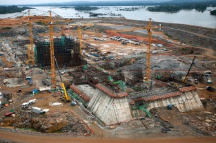 UHE Belo Monte no Xingu