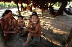 Comunidade dos índios Zoé's. Oriximiná, Pará, Brasil. Foto Beto Barata 06/2009