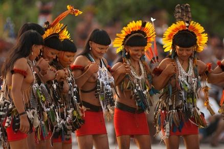 XI Jogos indígenas. Enawene Nauwe Porto Nacional, Tocantins, Brasil. Foto Paulo Santos. 04/11/2011.