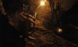 Garimpo Ouro Verde.Garimpeiro Fernando Albuquerque da Silva, 28 anos a seis no garimpo, trabalha a profundidades que chega a 300 mts a procura de ouro.O garimpo que fica cerca de 80 km de Altamira » um dos muitos da regiÑo a usar merc?rio para extr